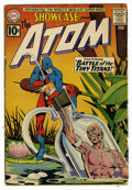 Silver Age (1956-1969):Superhero, Showcase #34 The Atom (DC, 1961) Condition: GD+. Origin and first appearance of the Silver Age Atom. Gil Kane and Murphy And...