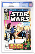 Modern Age (1980-Present):Science Fiction, Star Wars #43 (Marvel, 1981) CGC NM/MT 9.8 Off-white to whitepages. Part five of Empire Strikes Back movie adaptation....