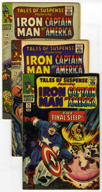 Tales of Suspense Group (Marvel, 1966-68) Condition: Average FN/VF. This large selection includes #74, 75 (first appeara...