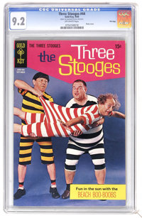 Three Stooges #44 File Copy (Gold Key, 1969) CGC NM- 9.2 Off-white pages. Photo cover. Overstreet 2006 NM- 9.2 value = $...