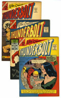 Silver Age (1956-1969):Superhero, Thunderbolt Group (Charlton, 1966-67) Condition: Average FN+. Includes #51, 52, 53, 54 (Sentinels begin), 55, 56, 57, 59, an... (Total: 9 Comic Books)