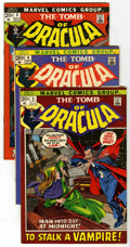 Bronze Age (1970-1979):Horror, Tomb of Dracula Group (Marvel, 1972-74) Condition: Average FN/VF.#3 (introduction of Dr. Rachel Van Helsing and Inspector C...(Total: 19 Comic Books)