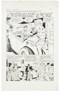 "Original Comic Art:Complete Story, Matt Baker and Vince Colletta (attributed) - First Love #89Complete 5-page Story ""Dungaree Doll"" Original Art (Harvey,1962).... (Total: 5 Items)"