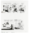 """Original Comic Art:Complete Story, Dave Berg - Mad #260 and 308 Complete 5-page Story """"The LighterSide of..."""" Original Art, Group of 2 (EC, 1986-92). Double y...(Total: 10 Items)"""