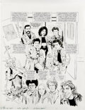 "Original Comic Art:Covers, Angelo Torres - Mad #286 Complete 5-page Story ""21 Junkheap""Original Art (EC, 1989). The crew from ""21 Jump Street"" find th..."