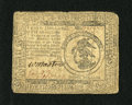 Colonial Notes:Continental Congress Issues, Continental Currency May 9, 1776 $3 Fine. Solid circulation androunded corners account for the grade on this very well sign...