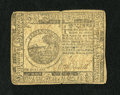 Colonial Notes:Continental Congress Issues, Continental Currency November 2, 1776 $6 Very Fine. A moderatecenter fold and a corner fold are all that separate this love...