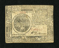 Colonial Notes:Continental Congress Issues, Continental Currency February 26, 1777 $7 Extremely Fine. This is alightly circulated example of this scarcer Baltimore iss...