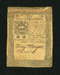 Colonial Notes:Pennsylvania, Pennsylvania October 1, 1773 10s Extremely Fine. A couple of foldsare detected on this well signed and attractive piece of ...