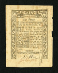 Colonial Notes:Rhode Island, Rhode Island May 1786 6d New. Gigantic sheet margins andmountainous embossing are both found on this attractive RhodeIslan...