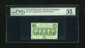 Fractional Currency:First Issue, Fr. 1312 50c First Issue PMG About Uncirculated 55. A lovely example of this first issue type that appears to be Choice New ...