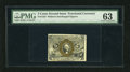 Fractional Currency:Second Issue, Fr. 1232 5c Second Issue PMG Choice Uncirculated 63. A very nice example of this second issue type note that is well margine...