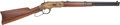 Long Guns:Lever Action, Engraved Navy Arms Model 1866 Yellow Boy Saddle Ring Carbine by Uberti....