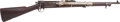 Long Guns:Bolt Action, U.S. Springfield Armory Model 1899 Krag Bolt Action CarbineModified With Sub-Target Training Device....