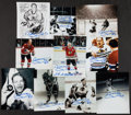 Hockey Collectibles:Photos, Bobby Hull Signed Photographs Lot of 10....