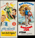 """Movie Posters:Comedy, Let's Do It Again & Others Lot (Columbia, 1953). Australian Daybills (6) (13.5"""" X 30"""", 13.75"""" X 29.75"""", 13"""" X 28"""", 13.5"""" X 2... (Total: 6 Items)"""