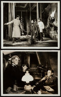 """Movie Posters:Horror, The Bride of Frankenstein (Universal, 1935). Photos (2) (8"""" X 10""""). Horror.. ... (Total: 2 Items)"""