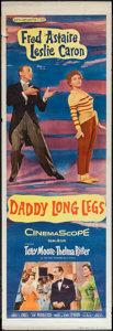 "Movie Posters:Musical, Daddy Long Legs (20th Century Fox, 1955). Door Panel Set of 4 (20""X 60""). Musical.. ... (Total: 4 Items)"