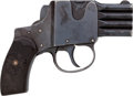 "Handguns:Derringer, Palm, Scarce 4-Barrel ""Reform"" Brevete Pocket Pistol.. ..."