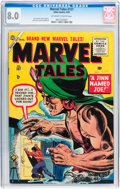 Golden Age (1938-1955):Horror, Marvel Tales #137 (Atlas, 1955) CGC VF 8.0 Off-white to whitepages....