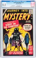 Silver Age (1956-1969):Mystery, Journey Into Mystery #51 (Marvel, 1959) CGC VF+ 8.5 Off-white towhite pages....