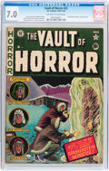 Golden Age (1938-1955):Horror, Vault of Horror #22 (EC, 1951) CGC FN/VF 7.0 Off-white to whitepages....