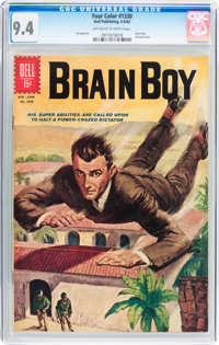 Four Color #1330 Brain Boy (Dell, 1962) CGC NM 9.4 Off-white to white pages