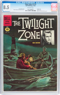 Silver Age (1956-1969):Adventure, Four Color #1173 The Twilight Zone (Dell, 1961) CGC VF+ 8.5 Off-white pages....
