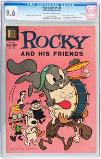 Four Color #1128 Rocky and His Friends - File Copy (Dell, 1960) CGC NM+ 9.6 Off-white to white pages
