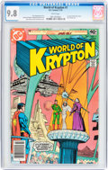 Bronze Age (1970-1979):Superhero, World of Krypton #1 (DC, 1979) CGC NM/MT 9.8 White pages....