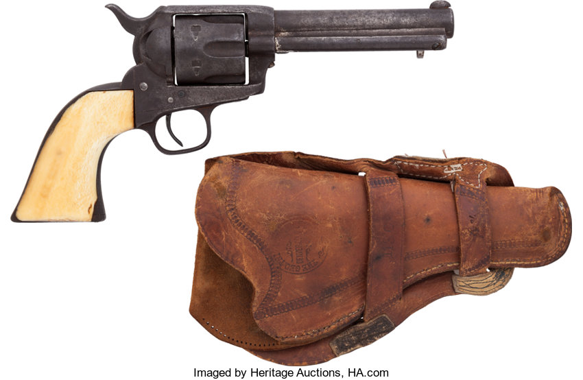 5-Digit Colt Single Action Revolver with Mexican Loop
