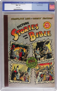 Picture Stories from the Bible Complete Life Of Christ Edition - Gaines File pedigree (DC, 1944) CGC NM+ 9.6 Off-white p...