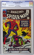 Silver Age (1956-1969):Superhero, The Amazing Spider-Man #40 (Marvel, 1966) CGC VF/NM 9.0 Off-white to white pages. In just the second issue as penciler for J...