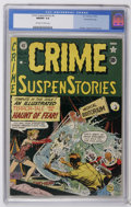 Golden Age (1938-1955):Horror, Crime SuspenStories #4 Gaines File pedigree 2/11 (EC, 1951) CGCNM/MT 9.8 Off-white to white pages. Something tells us that ...