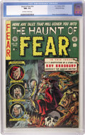 Golden Age (1938-1955):Horror, Haunt of Fear #18 Gaines File pedigree 2/12 (EC, 1953) CGC NM+ 9.6Off-white to white pages. Mind-boggling cover by Graham I...