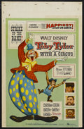 "Movie Posters:Drama, Toby Tyler, or Ten Weeks with a Circus (Buena Vista, 1960). WindowCard (14"" X 22""). Family. Starring Kevin Corcoran, Henry ..."