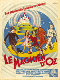 """Movie Posters:Musical, The Wizard of Oz (MGM, R-1940s). French Grande (47"""" X 63""""). Wonderful art with strong color by Boris Grinsson on this early ..."""