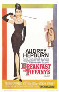 "Movie Posters:Romance, Breakfast at Tiffany's (Paramount, 1961). One Sheet (27"" X 41""). Blake Edwards's charming romantic comedy starring Audrey He..."