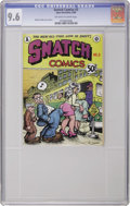 Silver Age (1956-1969):Alternative/Underground, Snatch Comics #3 First Printing (Apex Novelties, 1969) CGC NM+ 9.6Off-white to white pages. More of those little comic book...