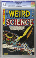 "Golden Age (1938-1955):Science Fiction, Weird Science #5 Davis Crippen (""D"" Copy) pedigree (EC, 1951) CGCNM- 9.2 Off-white pages. Zippy cover colors characterize t..."