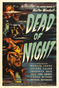 "Movie Posters:Horror, Dead of Night (Universal, 1946). One Sheet (27"" X 41""). This EalingStudio film is one of just a handful of 'true' horror fi..."