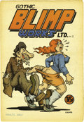 "Silver Age (1956-1969):Alternative/Underground, Gothic Blimp Works #2 (East Village Other, 1969) Condition: VF/NM.Robert Crumb's hilarious ""horny old bum and teenage girl""..."