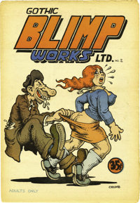 """Gothic Blimp Works #2 (East Village Other, 1969) Condition: VF/NM. Robert Crumb's hilarious """"horny old bum and teen..."""