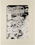 Original Comic Art:Covers, Steve Ditko - Ghostly Tales #159 Cover Original Art (Charlton,1983). In addition to his celebrated work at Marvel, Steve Di...