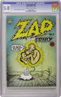 Silver Age (1956-1969):Alternative/Underground, Zap Comix #0 First Printing (Apex Novelties, 1967) CGC VG/FN 5.0Cream to off-white pages. When Robert Crumb finally got aro...