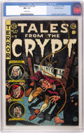 Golden Age (1938-1955):Horror, Tales From the Crypt #44 Gaines File pedigree 1/12 (EC, 1954) CGCNM+ 9.6 Off-white pages. A lovely beheading, and a shocked...