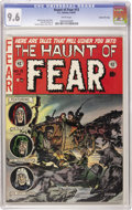Golden Age (1938-1955):Horror, Haunt of Fear #13 Gaines File pedigree 3/12 (EC, 1952) CGC NM+ 9.6White pages. Graham Ingels cover and interior art by Inge...