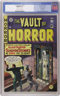 Golden Age (1938-1955):Horror, Vault of Horror #13 Gaines File pedigree 3/9 (EC, 1950) CGC NM/MT9.8 Off-white to white pages. Remember those comics that t...