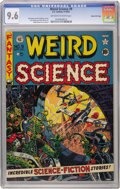 Golden Age (1938-1955):Science Fiction, Weird Science #9 Gaines File pedigree 10/12 (EC, 1951) CGC NM+ 9.6Off-white to white pages. The ninth issue of Weird Scienc...