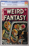 Golden Age (1938-1955):Science Fiction, Weird Fantasy #16 Gaines File pedigree 3/12 (EC, 1952) CGC NM+ 9.6Off-white to white pages. The best EC artists often manag...